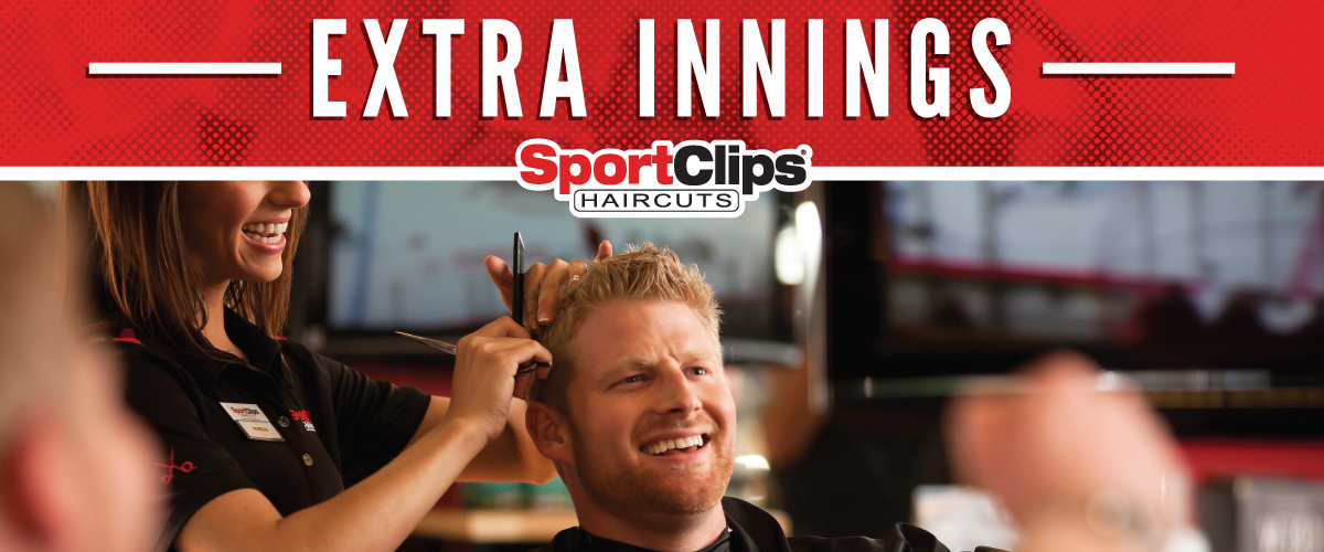 The Sport Clips Haircuts of Rochester Windsor Retail Center Extra Innings Offerings