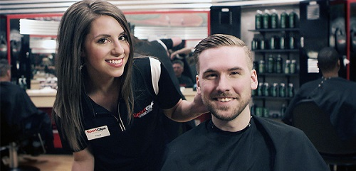 Sport Clips Haircuts of Rochester Windsor Retail Center​ stylist hair cut